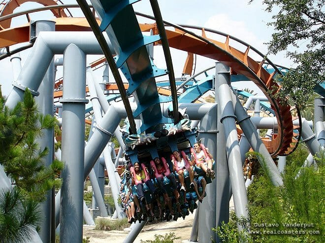 Roller Coaster at Islands of Adventure