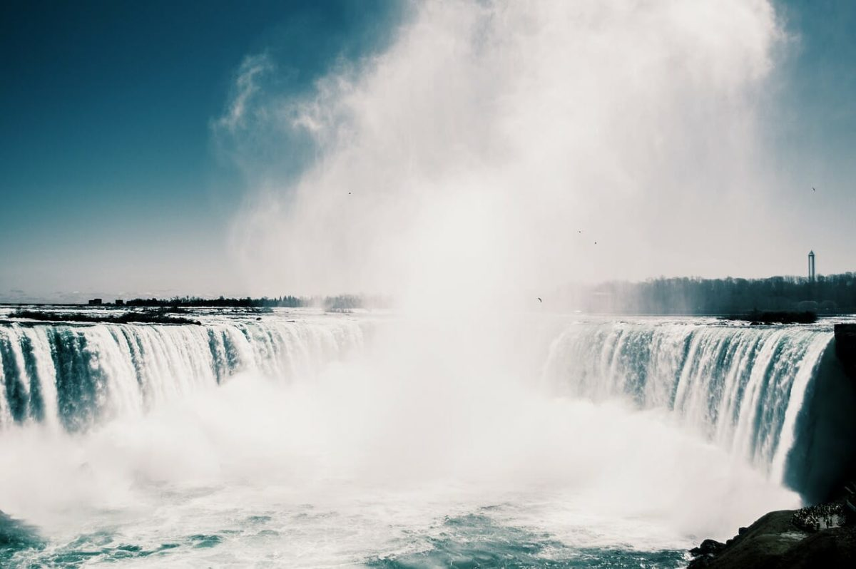 Niagara Falls Mist Pixabay Public Domain