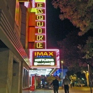 Esquire IMAX Theatre Sign