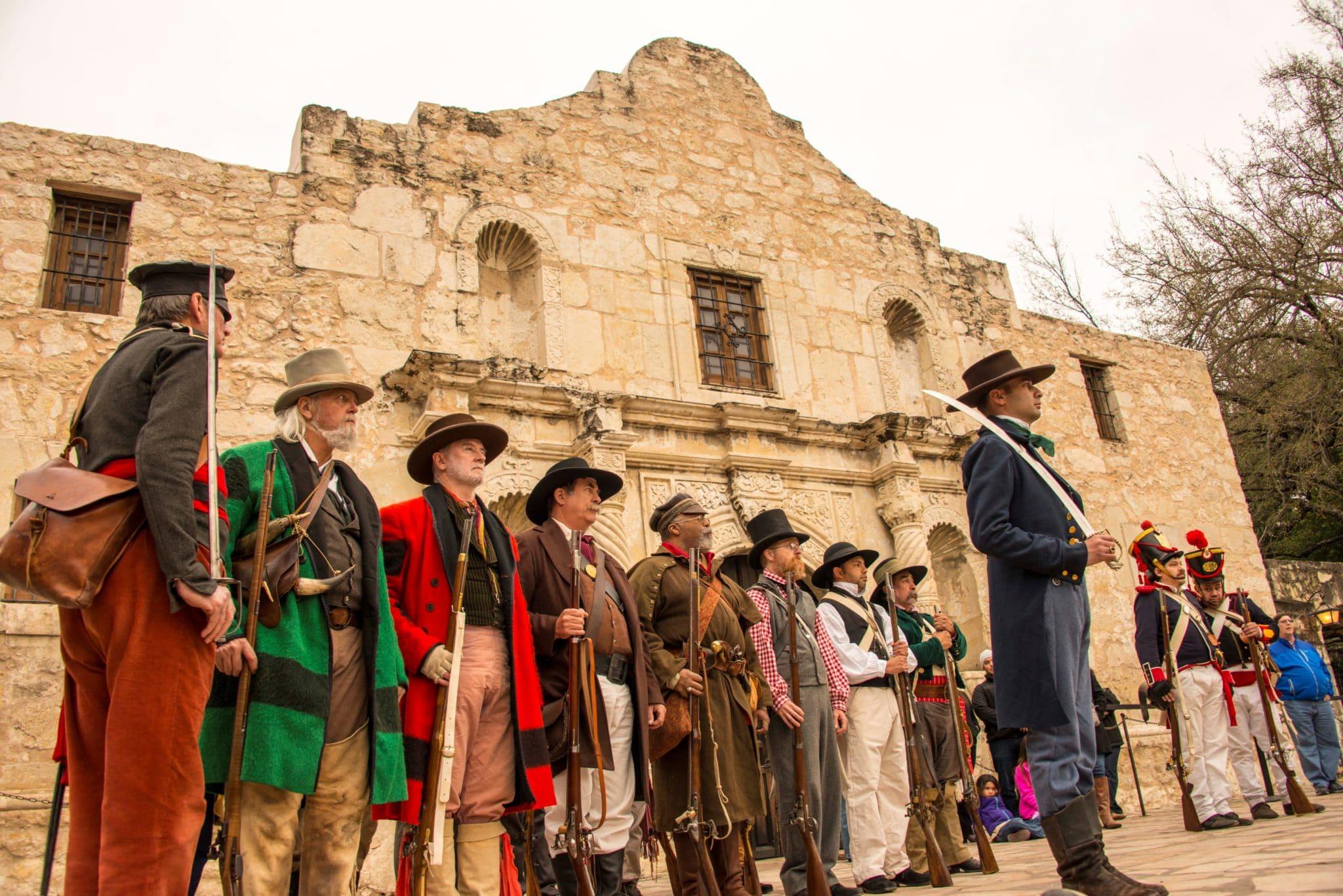 Alamo Living History courtesy of visitsanantonio.com