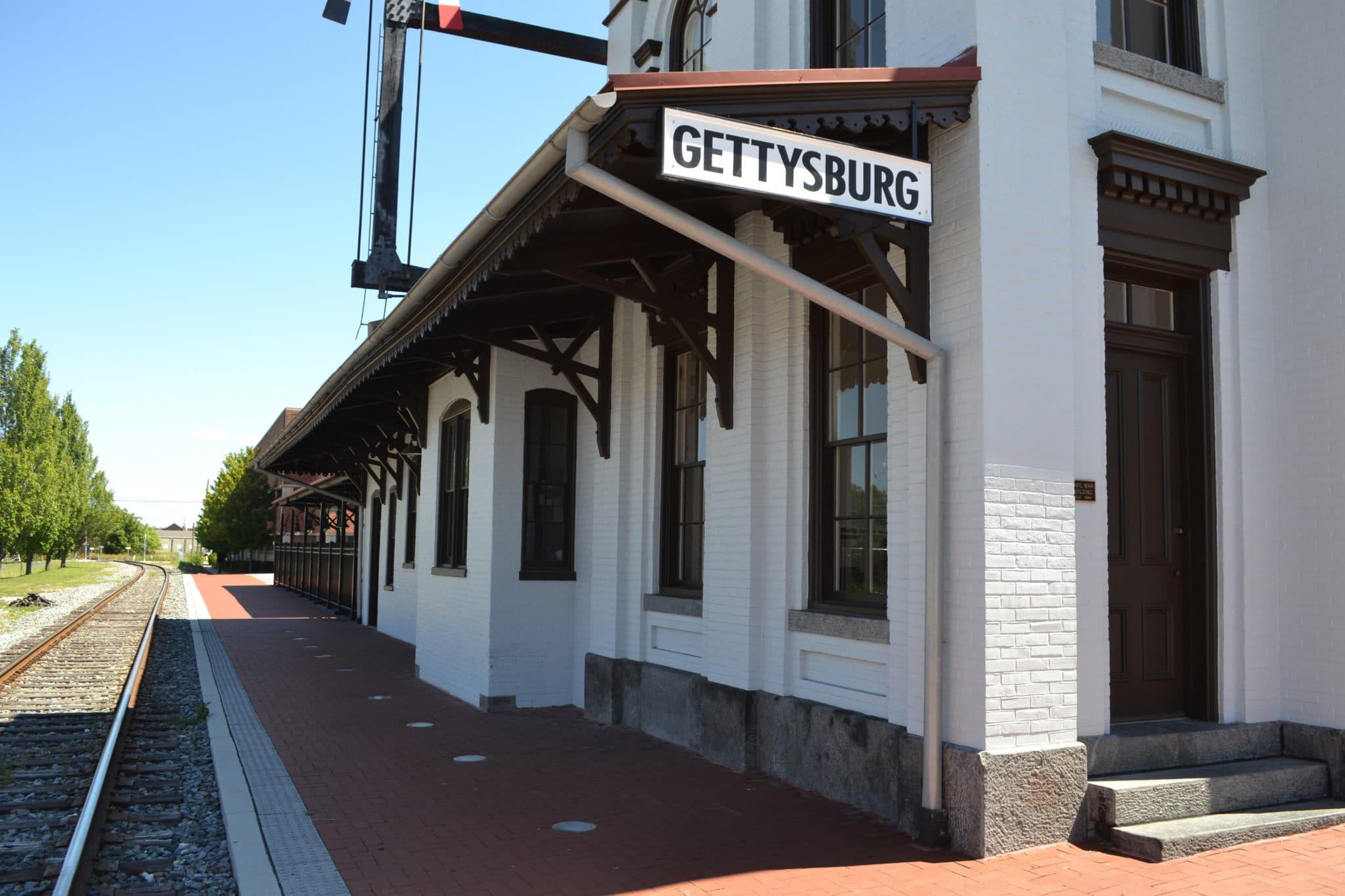 Gettysburg Train Station Credit Destination Gettysburg
