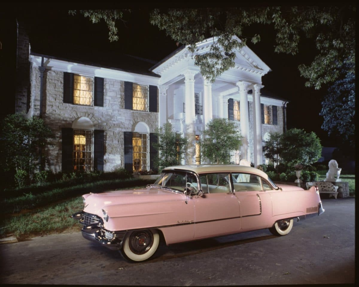Graceland with Pink Cadillac - Credit Graceland