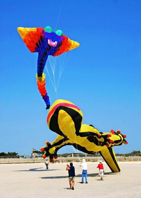 Kites Festival at Rockaway Beach,Queens,New York