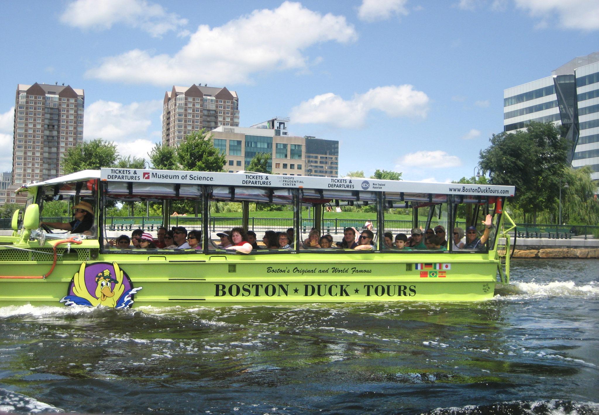 Boston Duck Tour Credit Liz Backlund