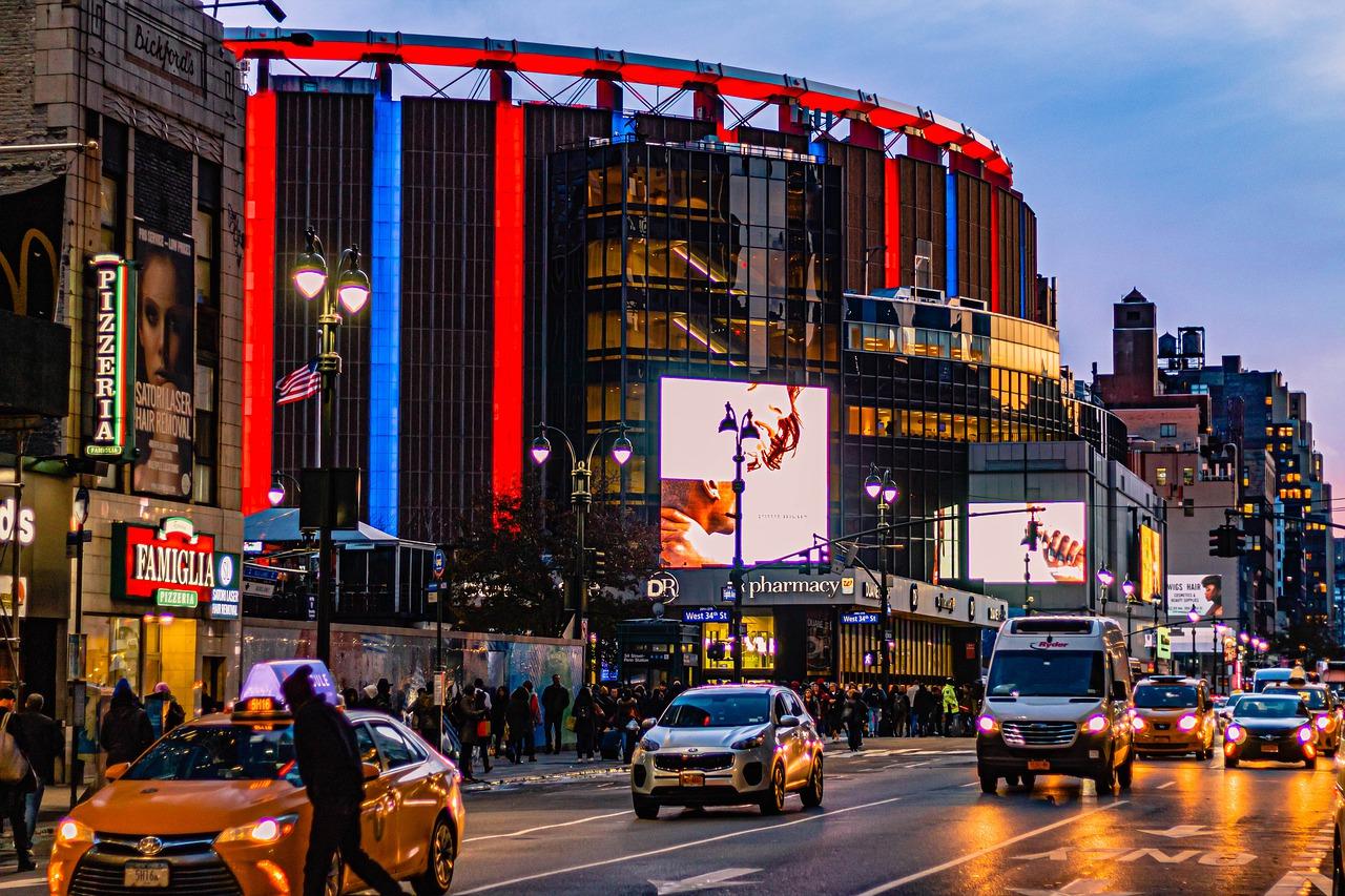 Madison Square Garden NYC Pixabay Public Domain