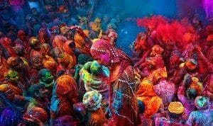 Holi Fesival - India via greatmindslearn.com