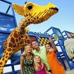 Lego Giraffe and Family
