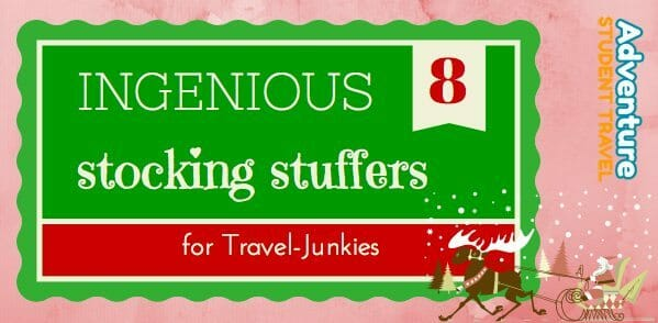 Stocking Stuffers for Travel Junkies