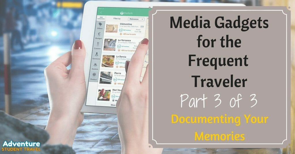 Media Gadgets for the Frequent Traveler (2)