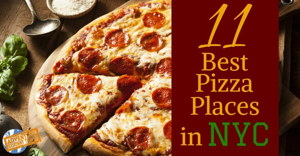 Best Pizza places in NYC