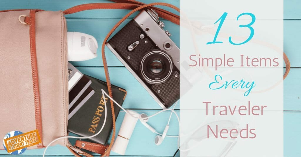 Simple Items every traveler needs