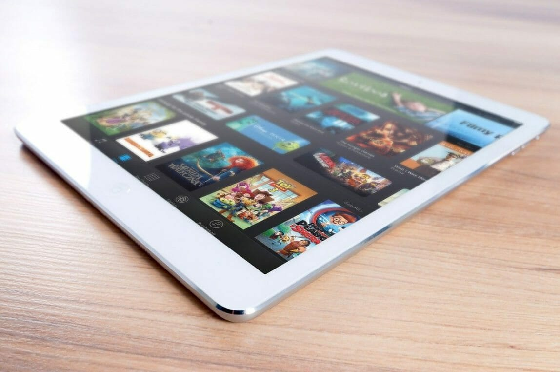 ipad ereader tablet