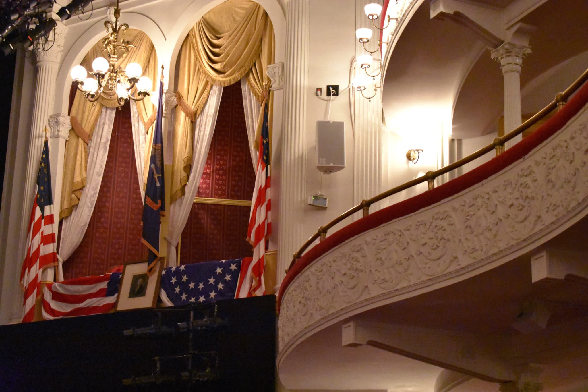 Ford's Theatre - Lincoln's Box courtesy of washington.org