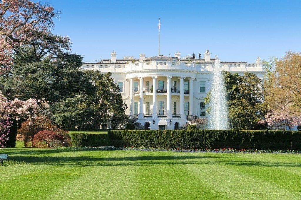 The White House, South Facade, Washington DC