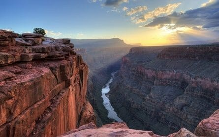 Grand Canyon at sunset picture in Grand Canyon
