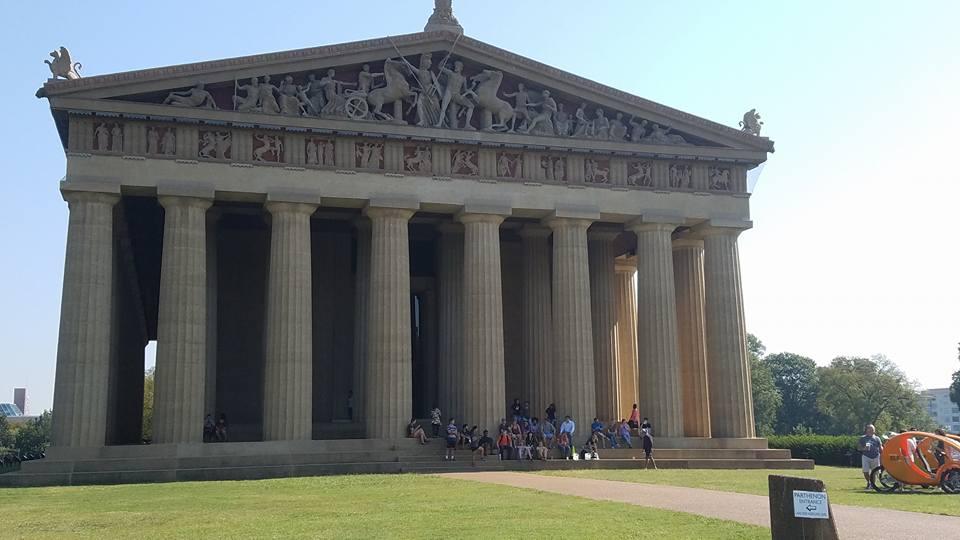 Parthenon Nashville Credit Danielle Breshears