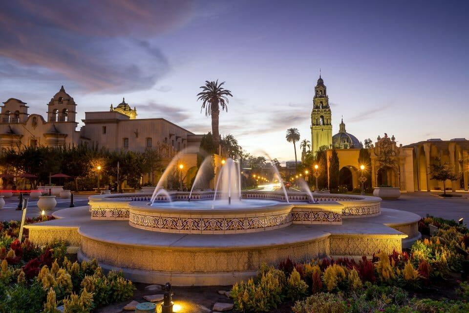 San Diego Balboa Park Scenes