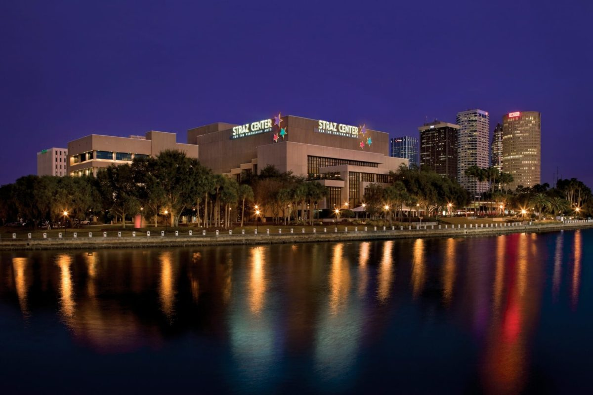 Straz Center for the Performing Arts along the Riverwalk in downtown Tampa. - Rob Harris
