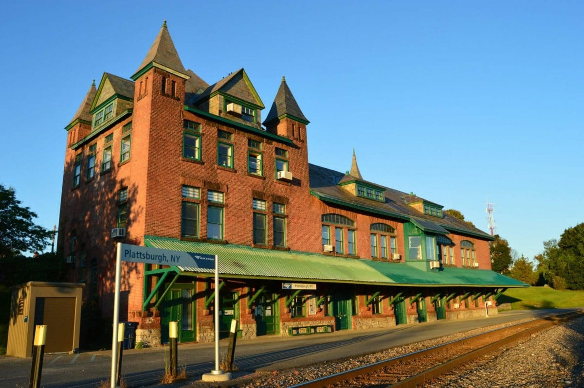 Plattsburgh Train Station