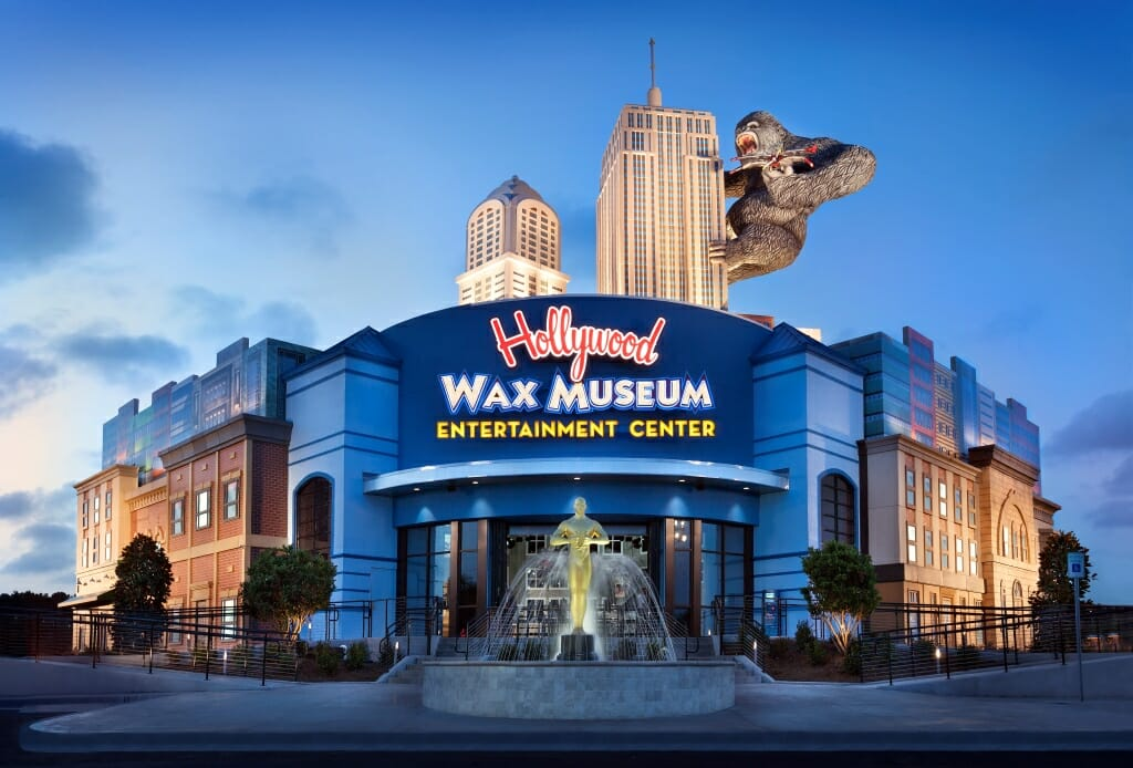 Hollywood Wax Museum - Credit Momwriter