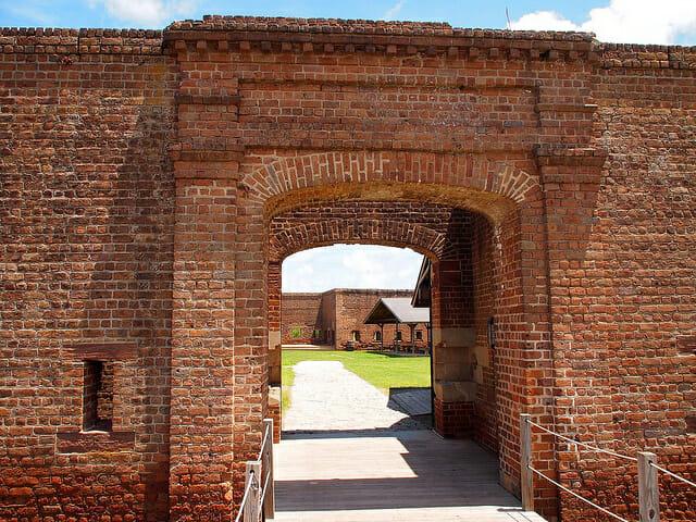 Old Fort Jackson Flickr Paul Arps