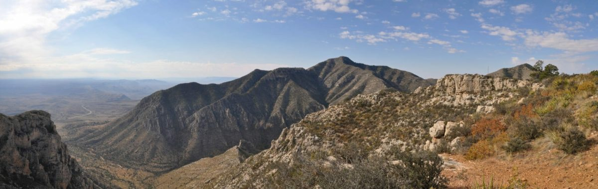 Guadalupe_Peak_from_Bowl_Trail