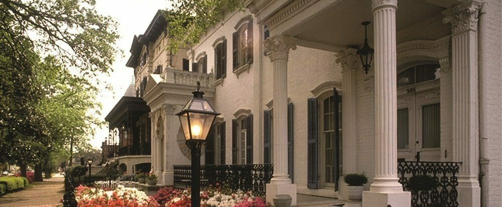 Savannah Historic District Mansion
