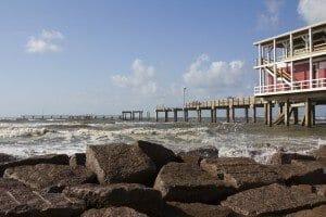Pier at Galveston, Texas