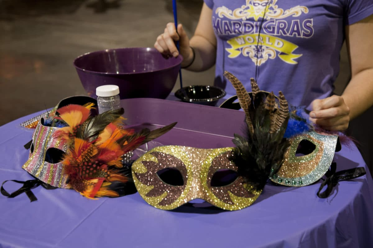 Mask Making photo 2