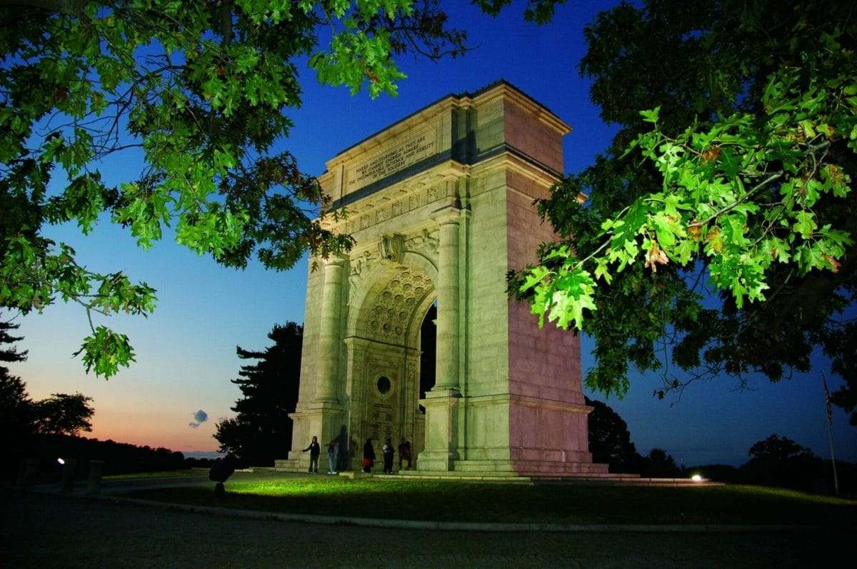 National Memorial Arch at Twilight