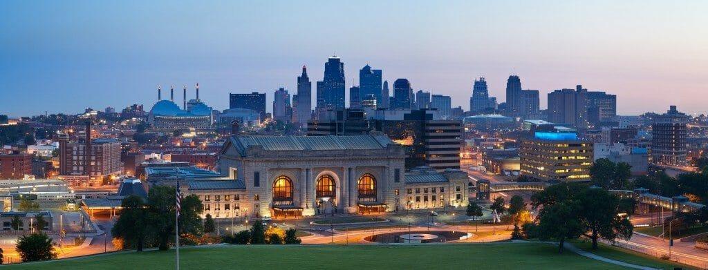 Kansas City skyline panorama