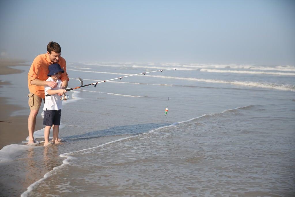 Mustang Island Fishing Credit CCCVB