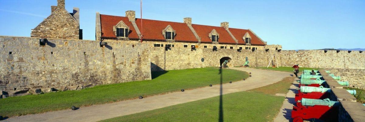 Fort Ticonderoga, Lake Champlain, New York State