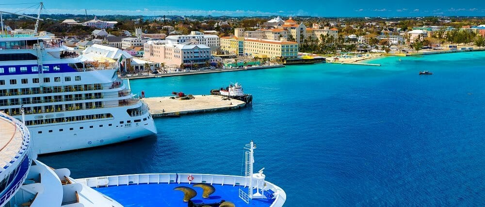 Cruise Ships in Nassau Bahamas port