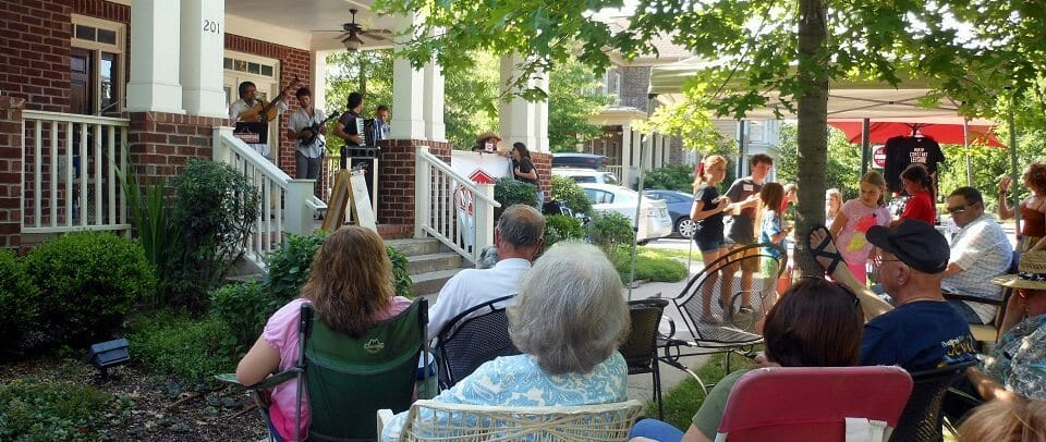 Fans_Enjoying_Franklin_(Westhaven),_Tennessee_Porchfest