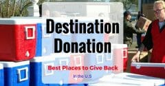Destination Donation: Best Places to Give Back in the U.S