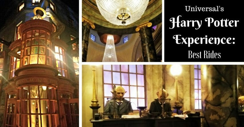 Universal S Harry Potter Experience Best Rides