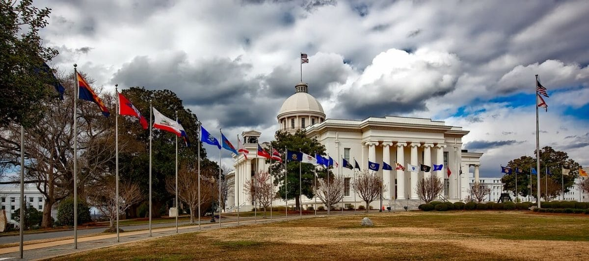 Alabama State Capitol Pixabay Public Domain