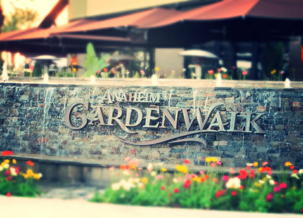 Anaheim GardenWalk Flickr Credit: travelingnorthagency