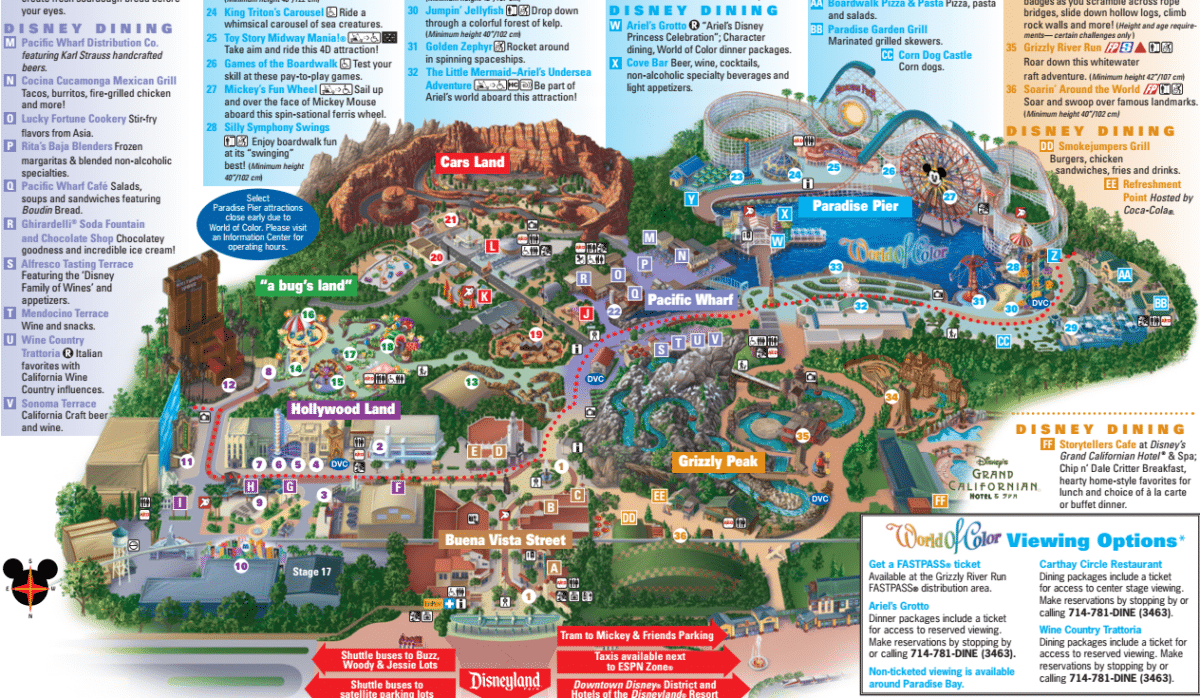 Differences Between Disneyland and Disney's California Adventure