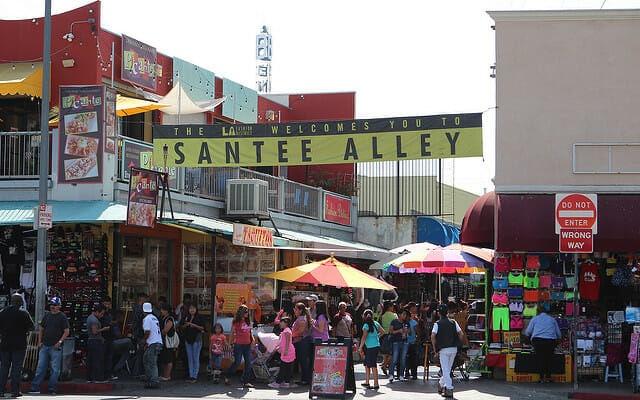 Santee Alley L.A Flickr