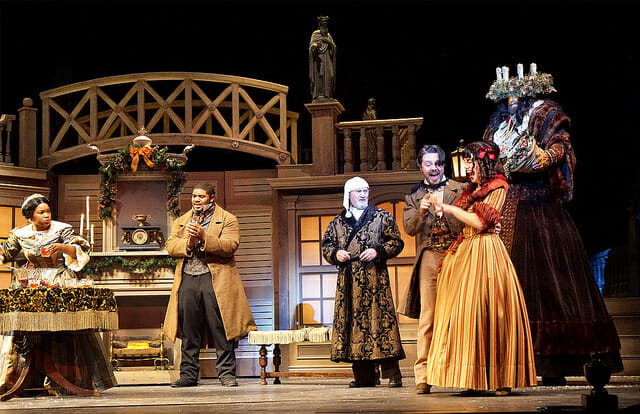KC Rep A Christmas Carol '15 Photo by Don Ipock