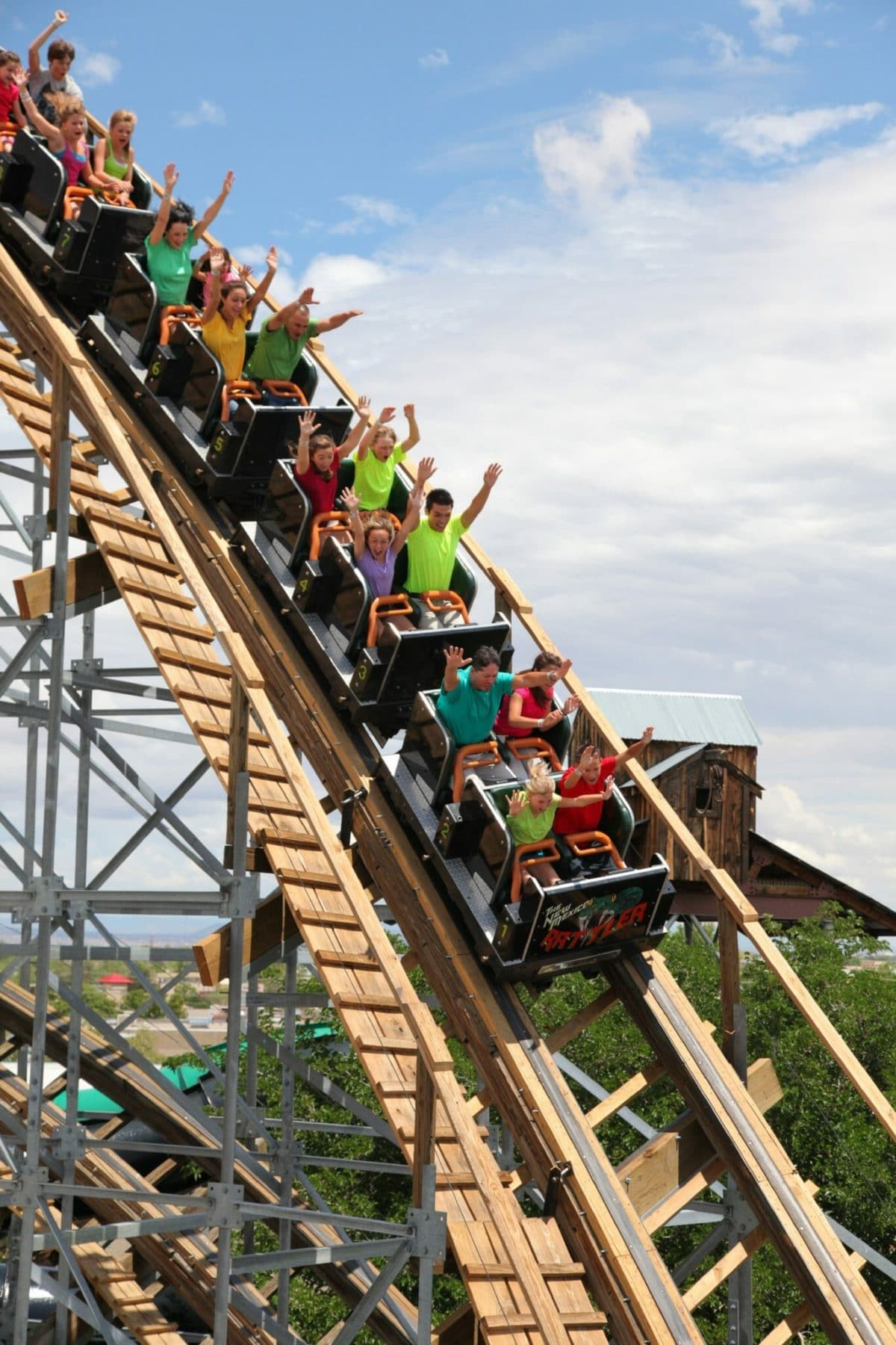 Rattler - Courtesy Cliff's Amusement Park