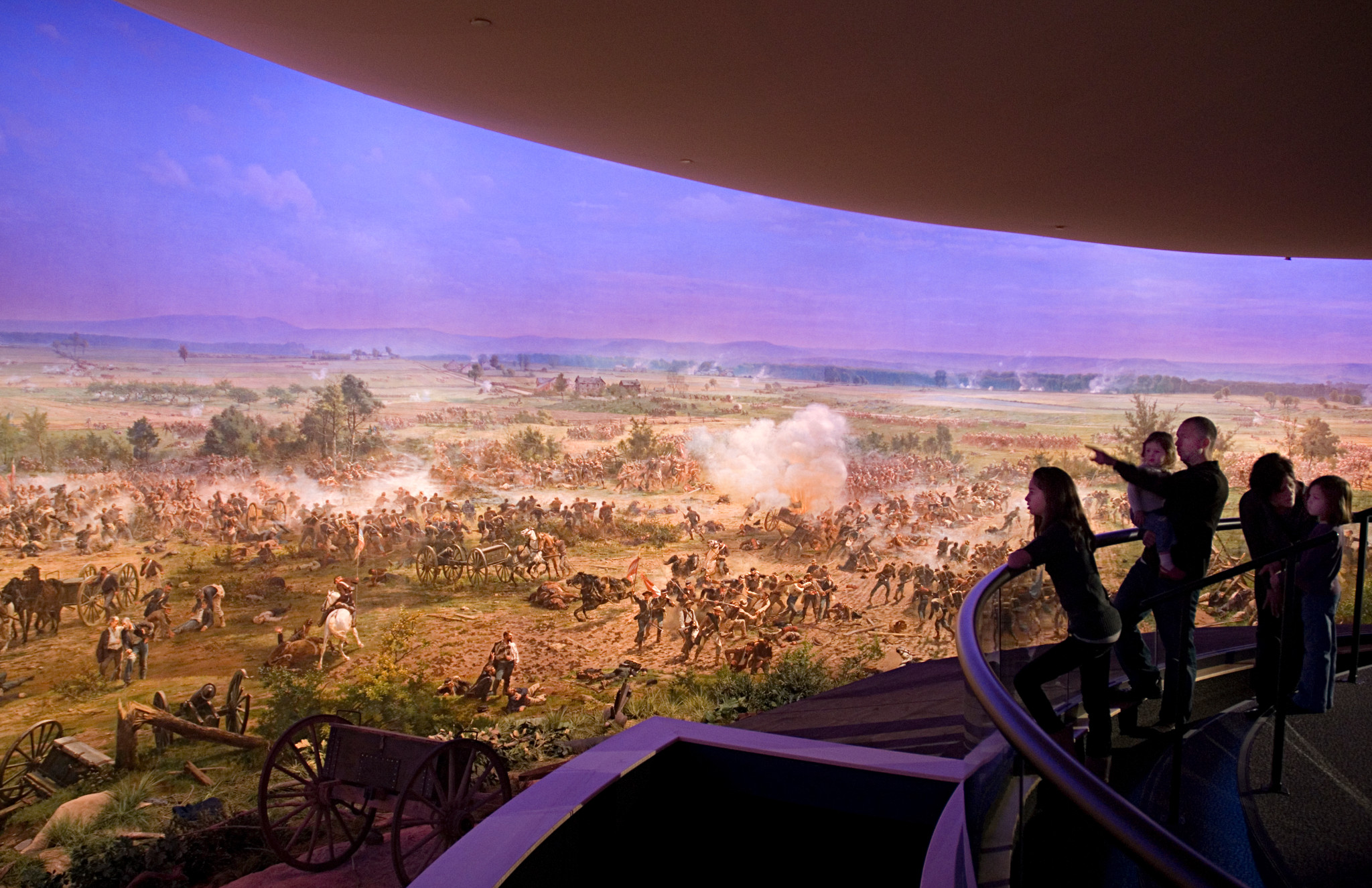 Gettysburg Cyclorama Credit Visitor Center