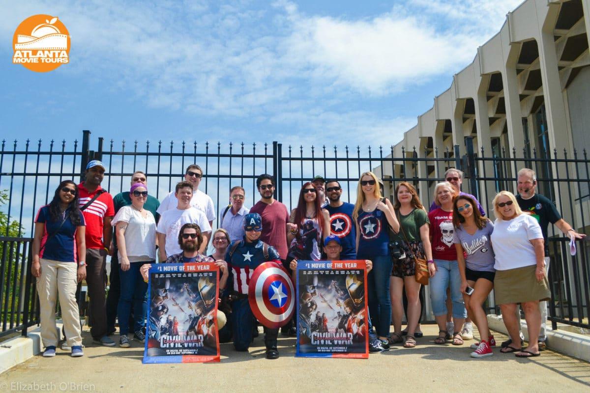 Captain Group - Atlanta Movie Tours