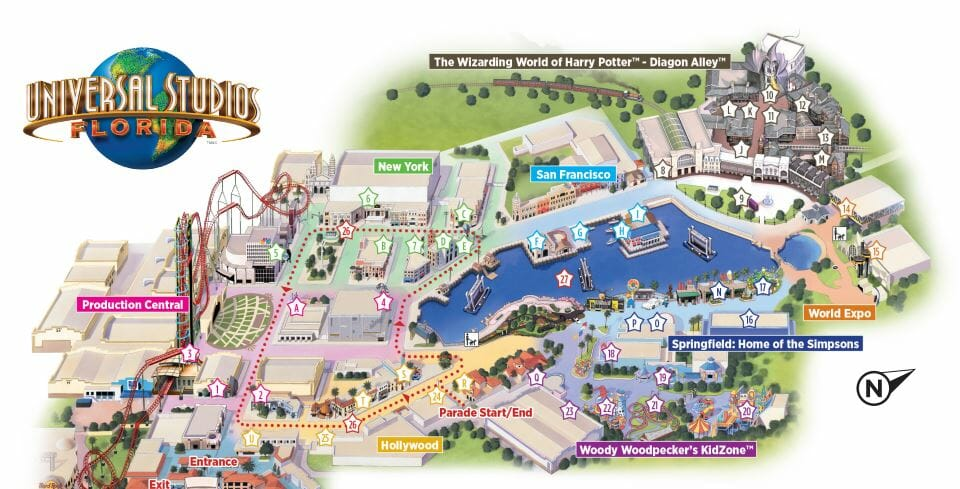 7 Differences Between Universal Studios Florida and Islands of Adventure