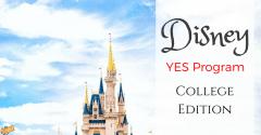 Disney YES Program: College Edition