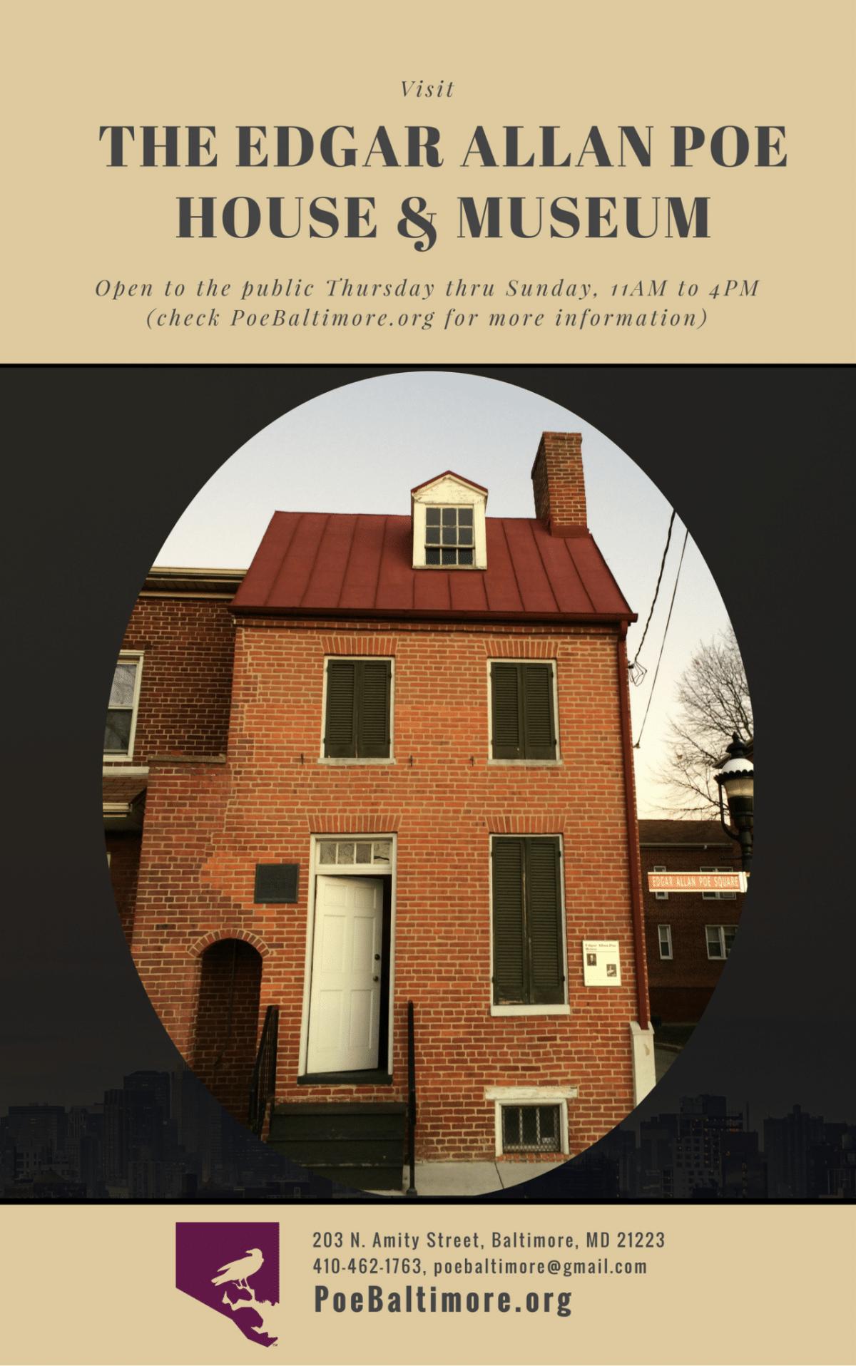Visit Edgar Allan Poe House