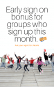 Early Sign On Bonus!!