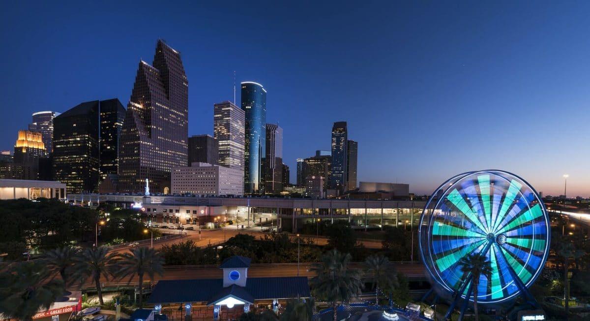 Houston, Texas, Skyline Pixabay Public Domain